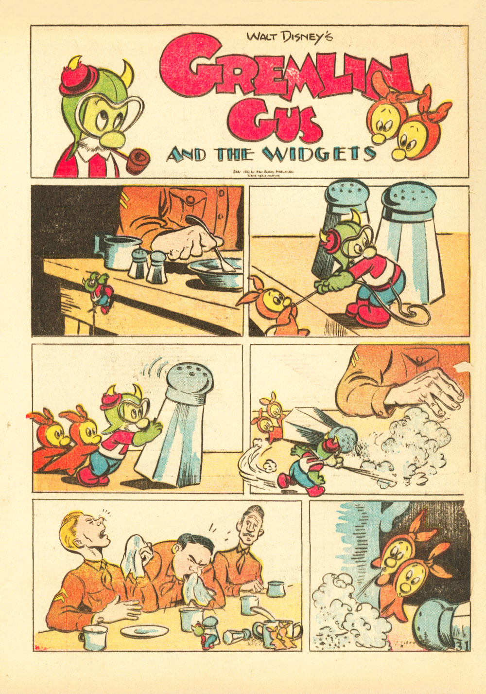Walt Disney's Comics and Stories issue 38 - Page 33
