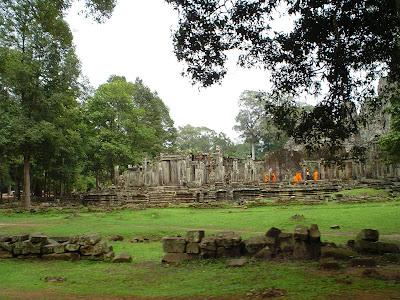 Monks at Angkor Wat