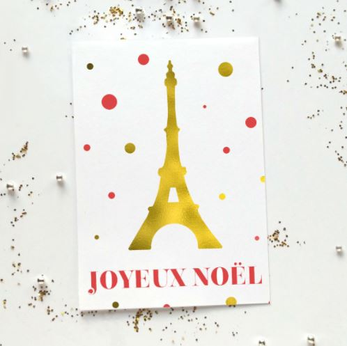 French Xmas Cards