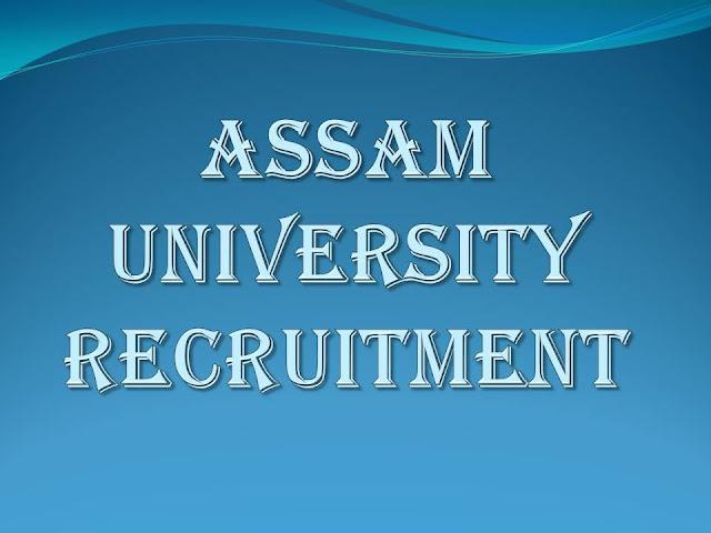Assam University Recruitment