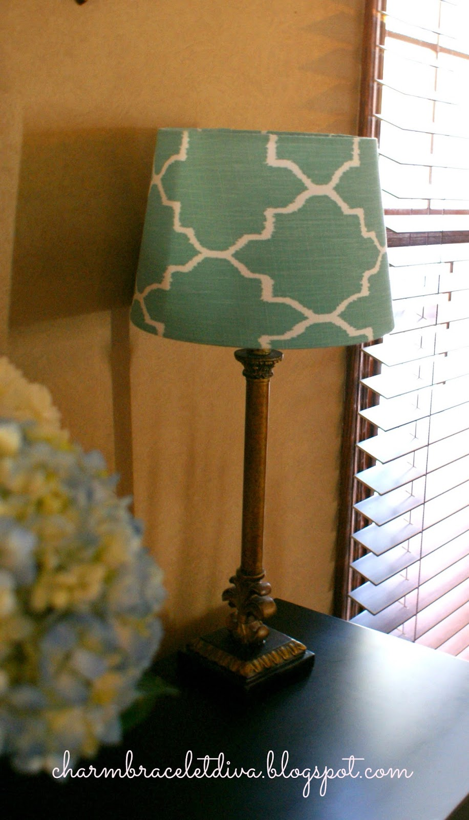 Orange and turquoise lamp shade - Target Lamp Shade Turquoise