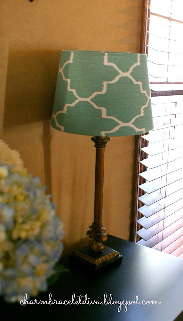 Target lamp shade turquoise