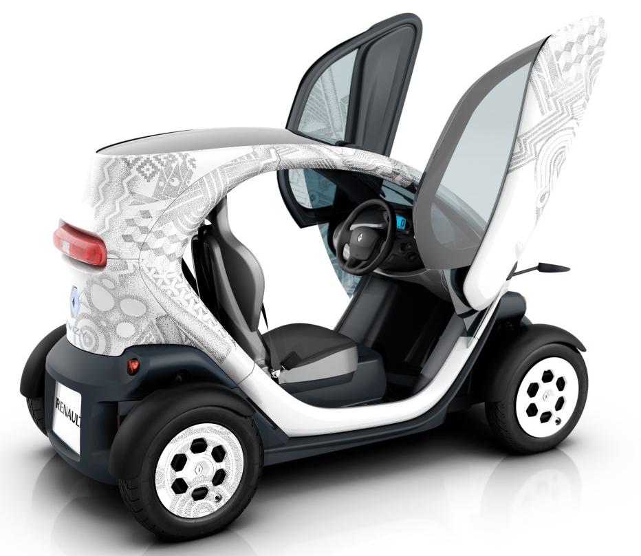 Renault Twizy: Concorrente Eléctrico Do Smart Já Tem