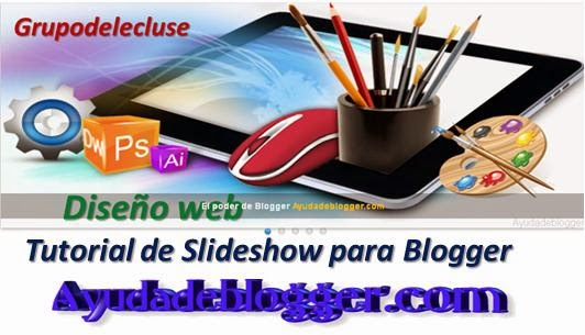 Tutorial de Slideshow para Blogger