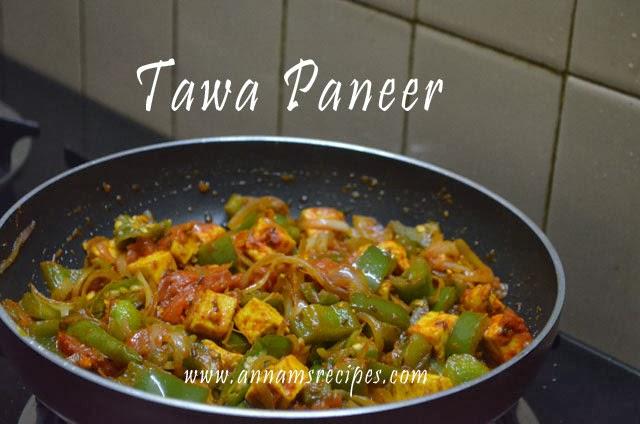 Tawa Paneer