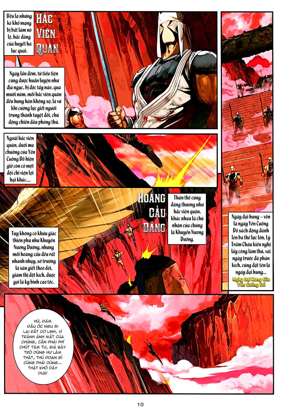 Ôn Thuỵ An Quần Hiệp Truyện Phần 2 chapter 32 trang 11