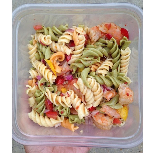 Make It Monday Pretty Girl Cant Put It Down Shrimp Pasta Salad