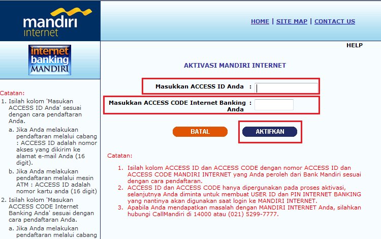 Daftar Kode Bank Atm Bersama Prima 4 Digit Kode Aktivasi Kartu Kredit Bank Mandiri