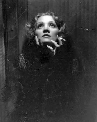 Marlene Dietrich en El expreso de Shanghai
