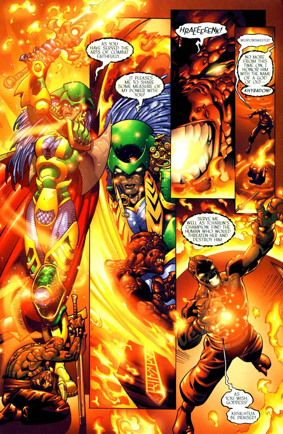 Read online Sigil (2000) comic -  Issue #11 - 13