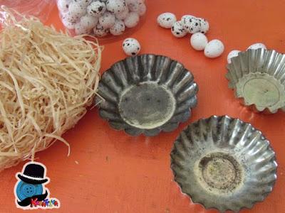 riciclare stampi per dolci di alluminio in maniera creativa