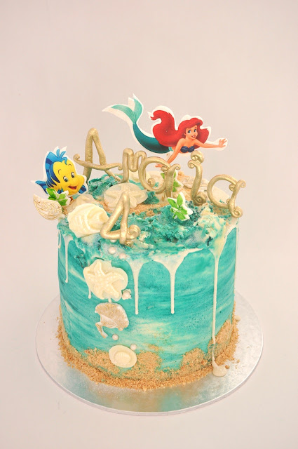 Rozanne S Cakes Little Mermaid Crazy Cake