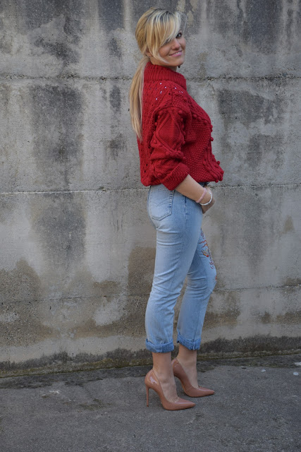jeans and heels how to wear jeans and heels how to combine jeans and heels march outfit mariafelicia magno fashion blogger colorblockby felym fashion bloggers italy italian fashion bloggers