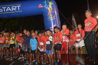 Tanjungpura Isoplus Night Run Dalam Rangka HJK ke 73
