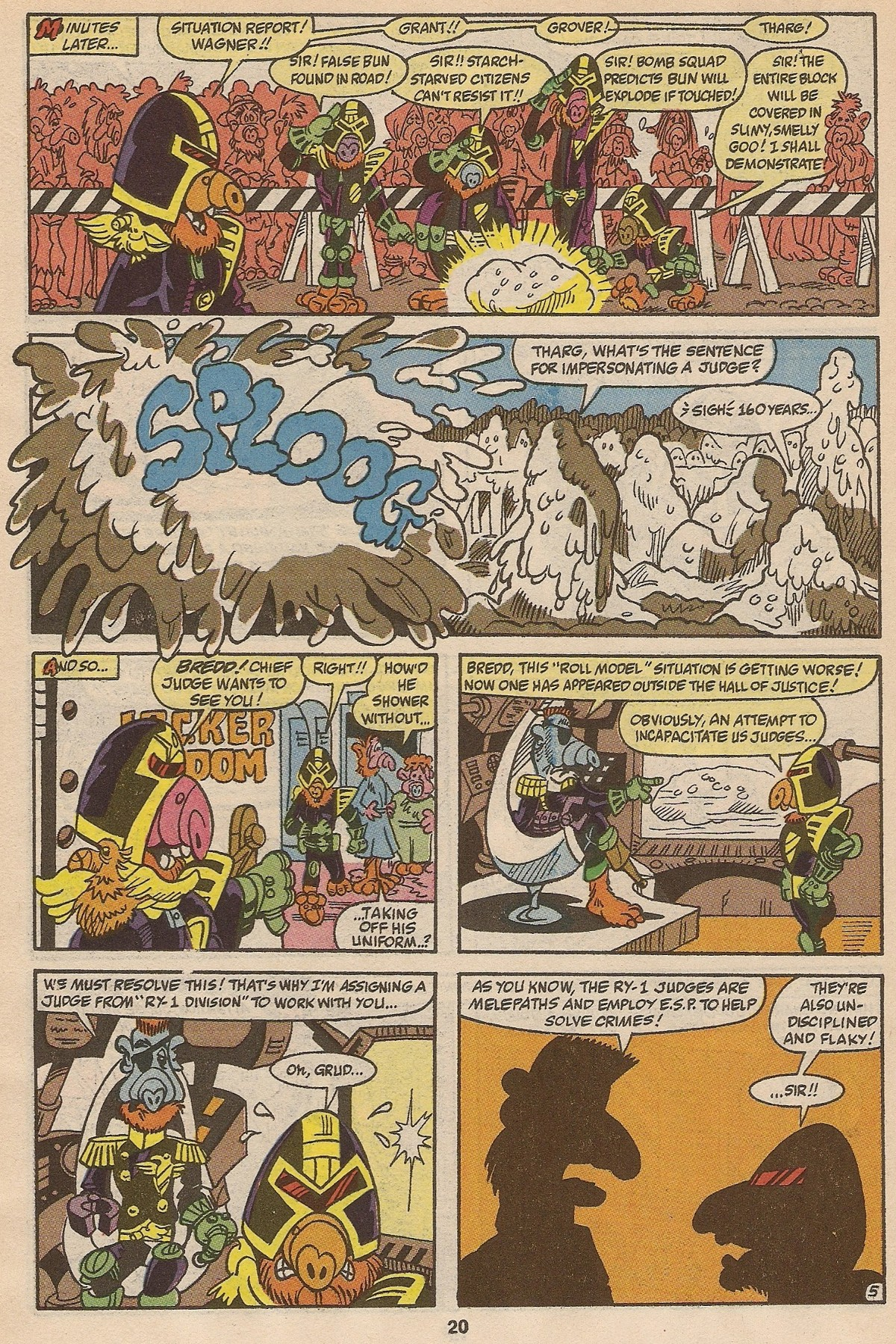 Read online ALF comic -  Issue #35 - 21