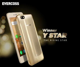 Evercoss Winner Y Star Plus Terbaru