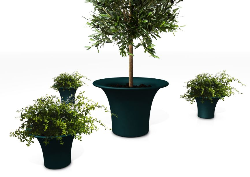 Vaso piante esterno design naoto fukasawa per serralunga for Vasi per piante