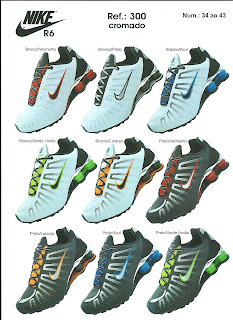 nike shox junior atacado