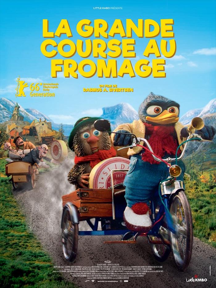 Film d'animation La Grande Course au Fromage