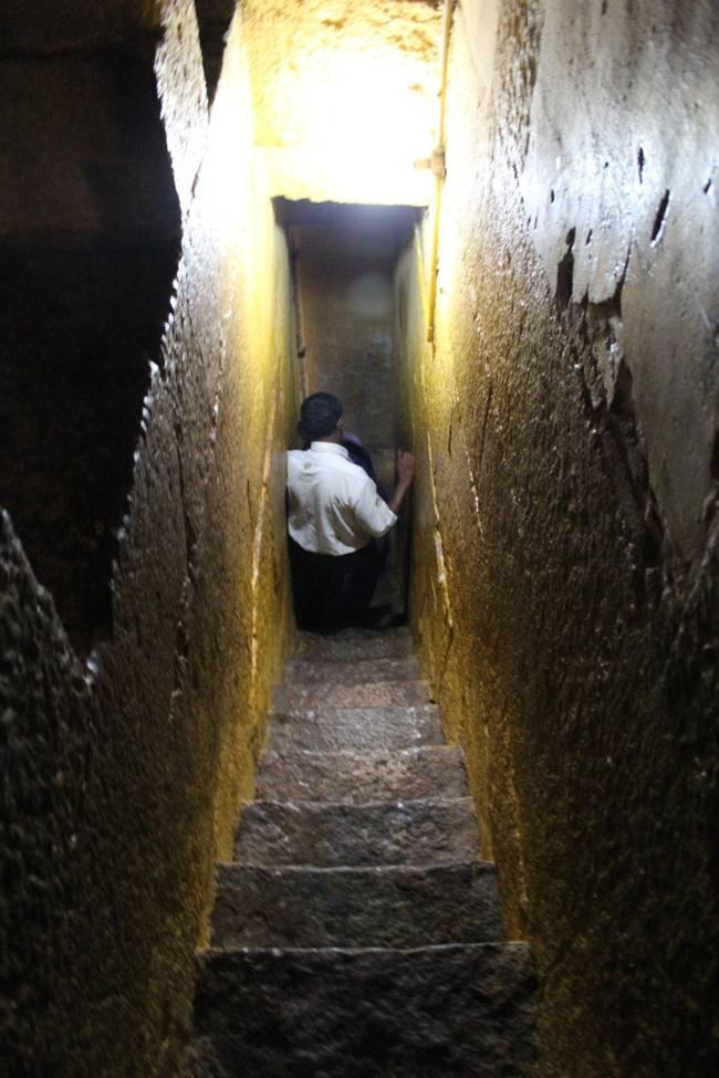 Steps In The Vimanam Of Thirukoshtiyur Temple