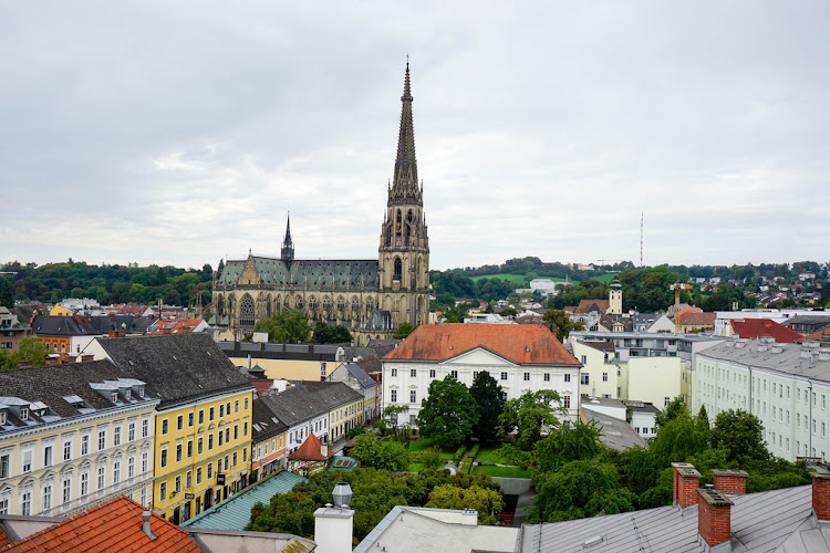 Fotograficznie: Over the roofs of Linz