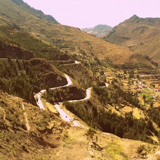 Vale do Rio Urubamba, Visto de Pisac