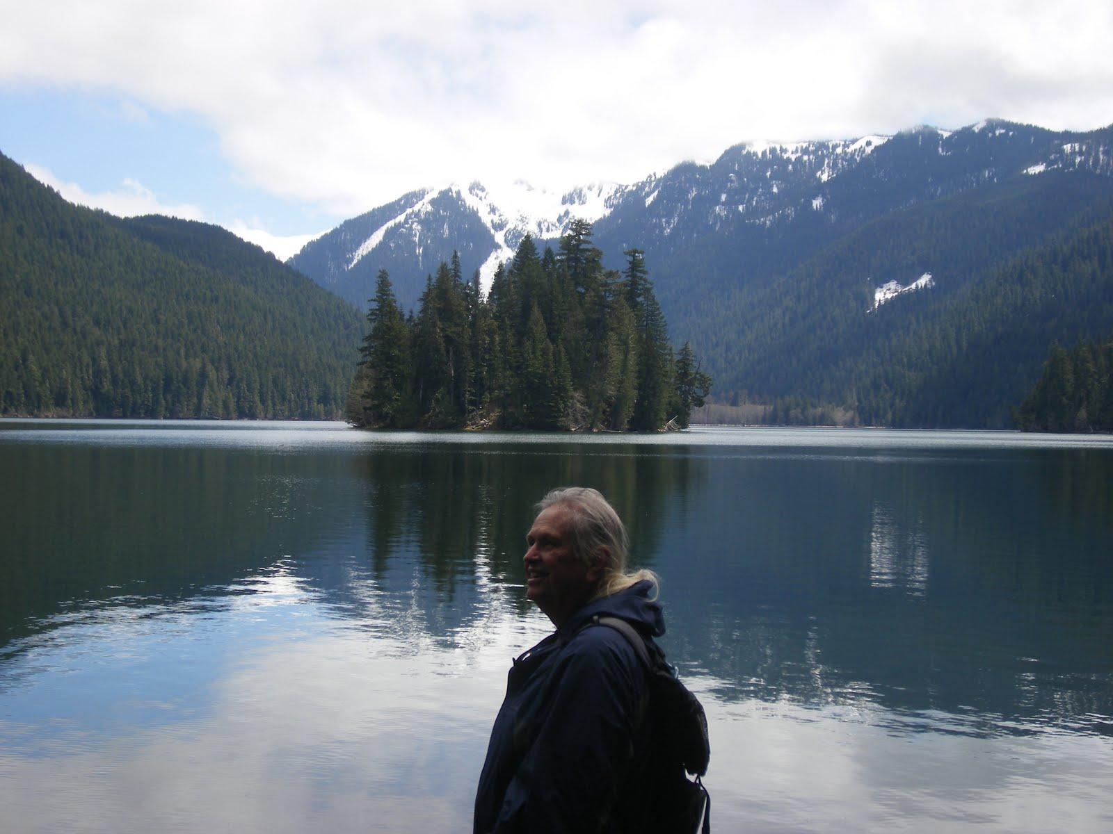 North to Alaska Packwood RV Park Washington and Mt Rainier