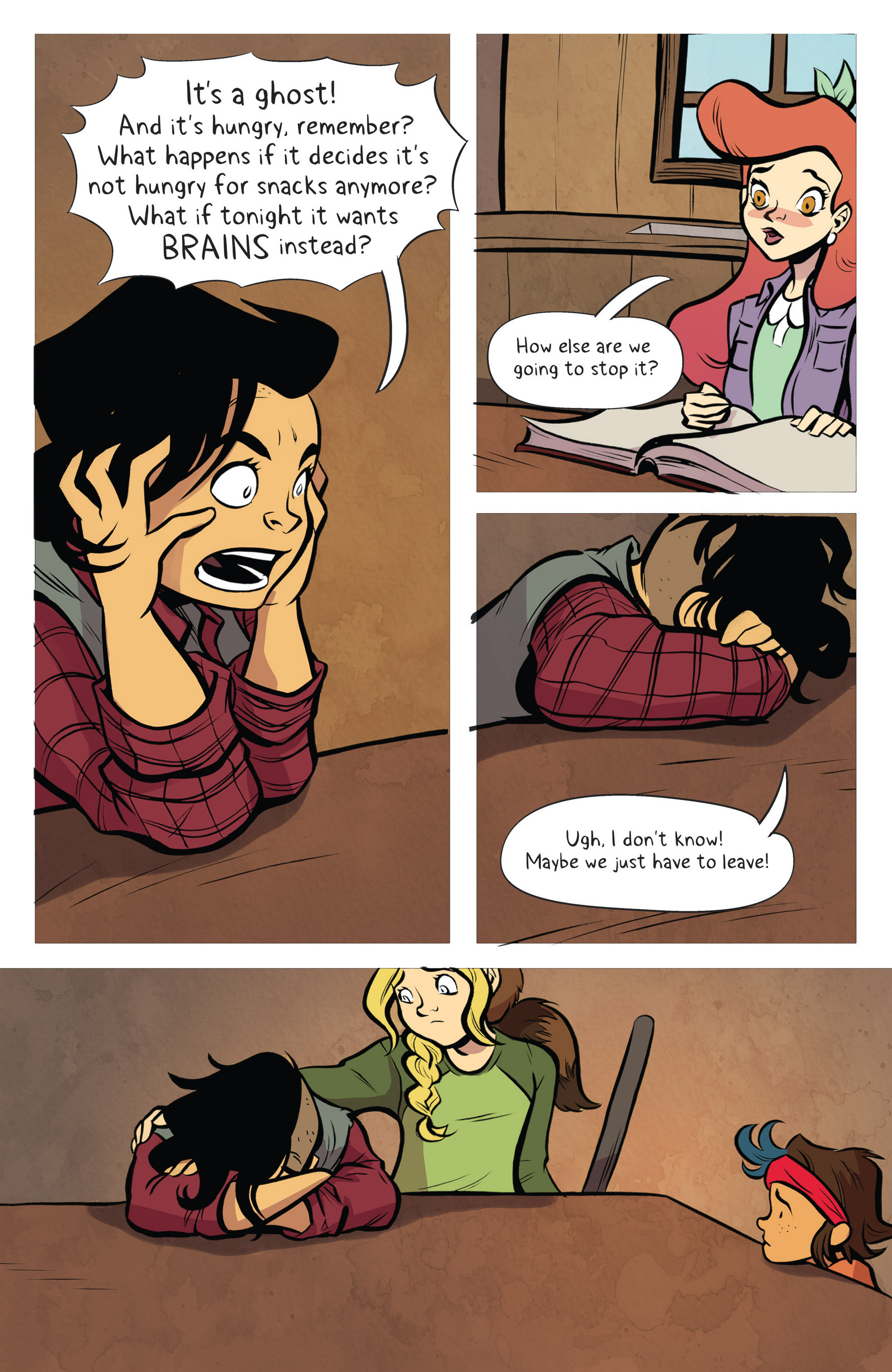 Read online Lumberjanes: Makin' the Ghost of It 2016 Special comic -  Issue # Full - 24