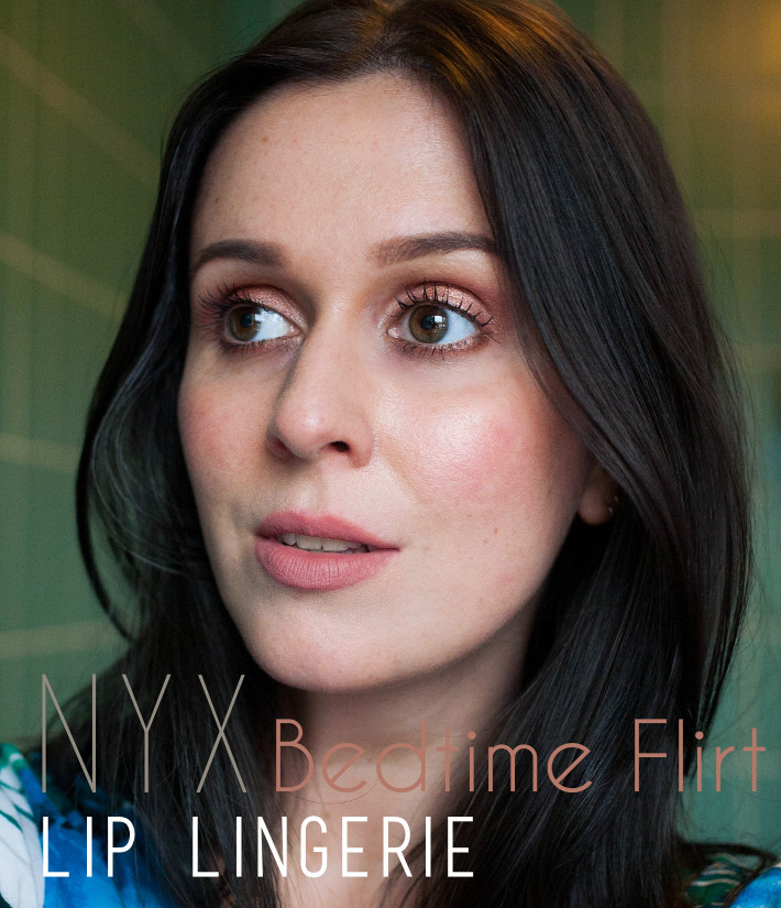 NYX Lip Lingerie in bedtime flirt review