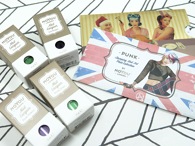 Unboxing of the MoYou London Halloween Mani Box