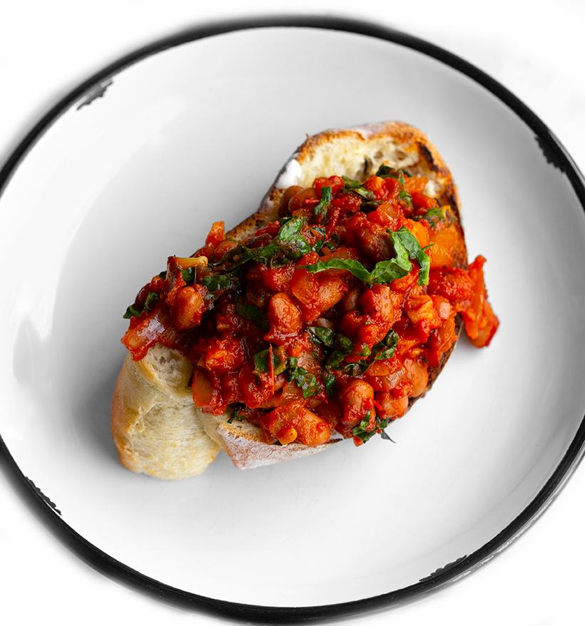 Easy Baked Beans On Toast Vegan Recipe
