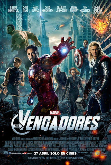 Poster Oficial The Avengers - Los vengadores
