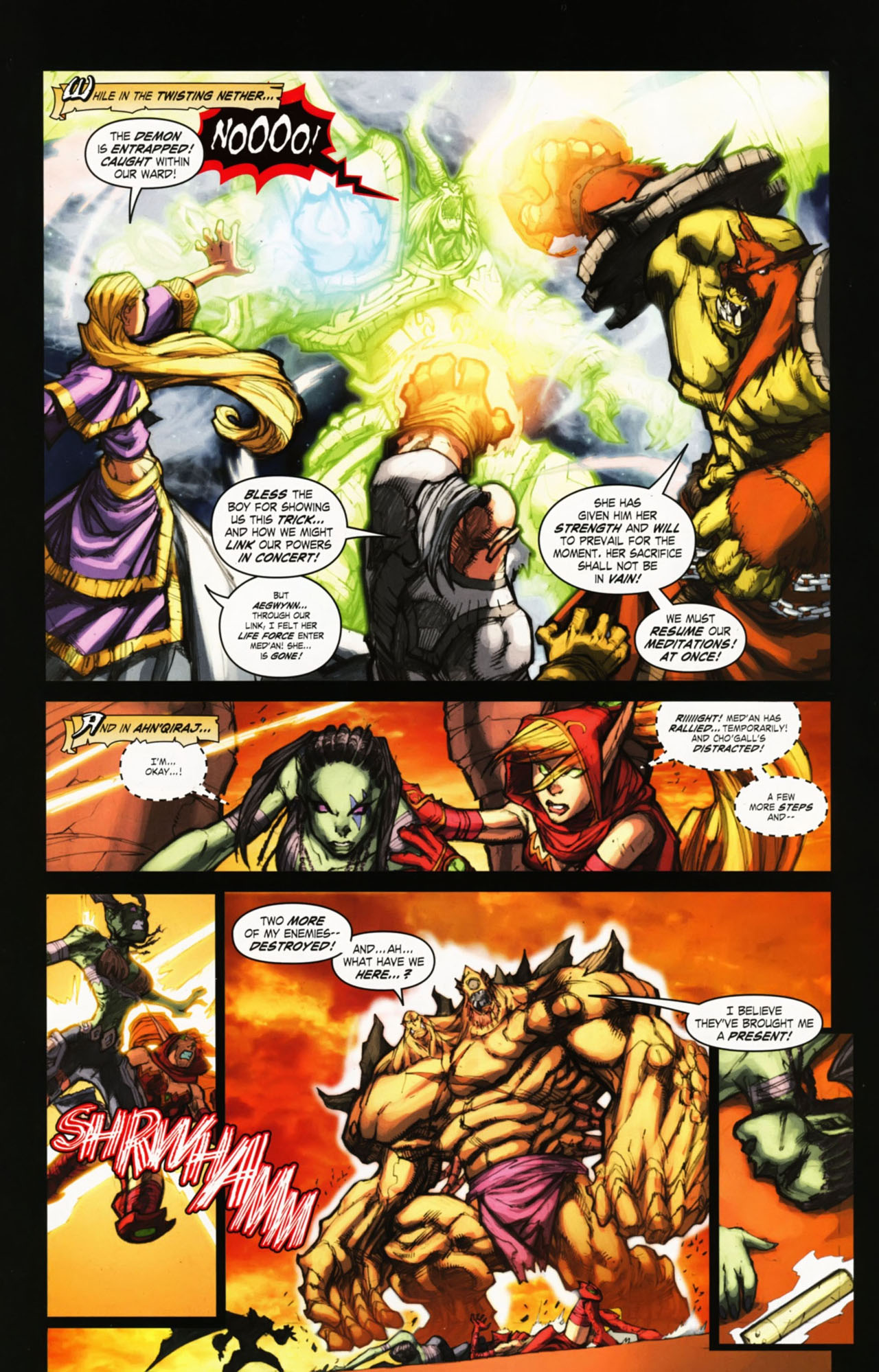 Read online World of Warcraft comic -  Issue #25 - 32