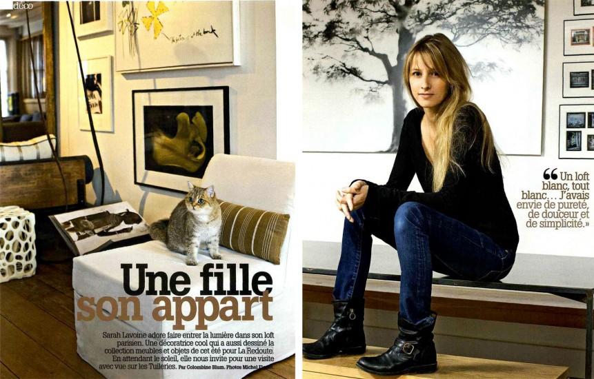 sarah lavoine morgane f. Black Bedroom Furniture Sets. Home Design Ideas