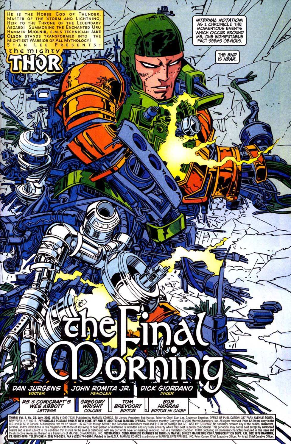 Thor (1998) Issue #25 #26 - English 2