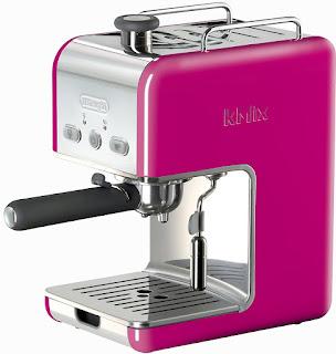 cafetera rosa delongui