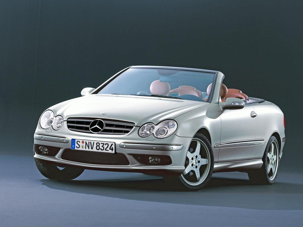 racing cigalo mercedes benz clk 500 cabrio 2005. Black Bedroom Furniture Sets. Home Design Ideas