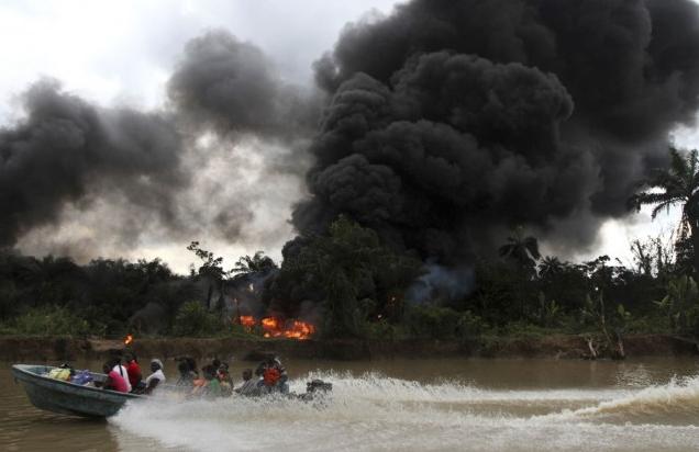 illegal refineries delta state