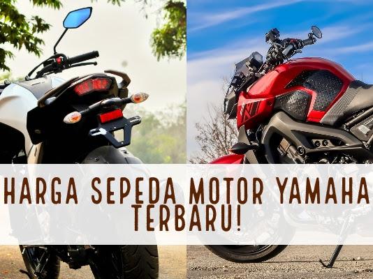Review dan Harga Sepada Motor Yamaha Terbaru