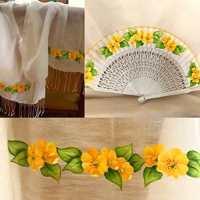 abanico-y-chal-flores-pitimini-amarillas-invitado-creativo-elmundodececilia