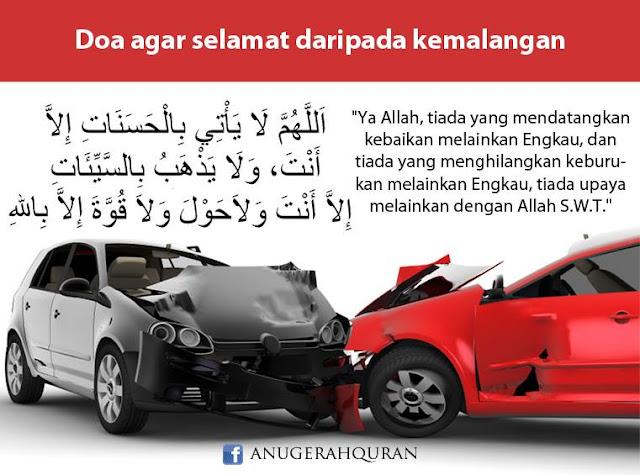 Doa menaiki kenderaan