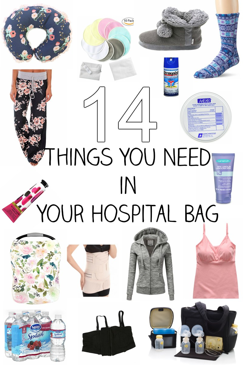 14 Things You Need in Your Hospital Bag