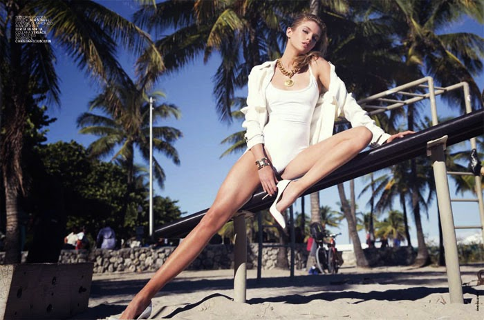 """Language In 45 And 47 Stella Street: Duchess Dior: """"Miami Beach Style"""" By David Bellemere For"""