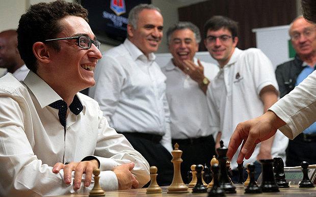 Le joueur d'échecs du mois: Fabiano Caruana, n°2 mondial