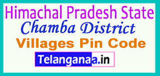 Chamba District Pin Codes in Himachal Pradesh State