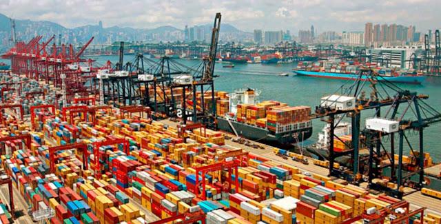 Resultado de imagem para porto de Shanghai