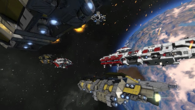 Space Engineers Fight