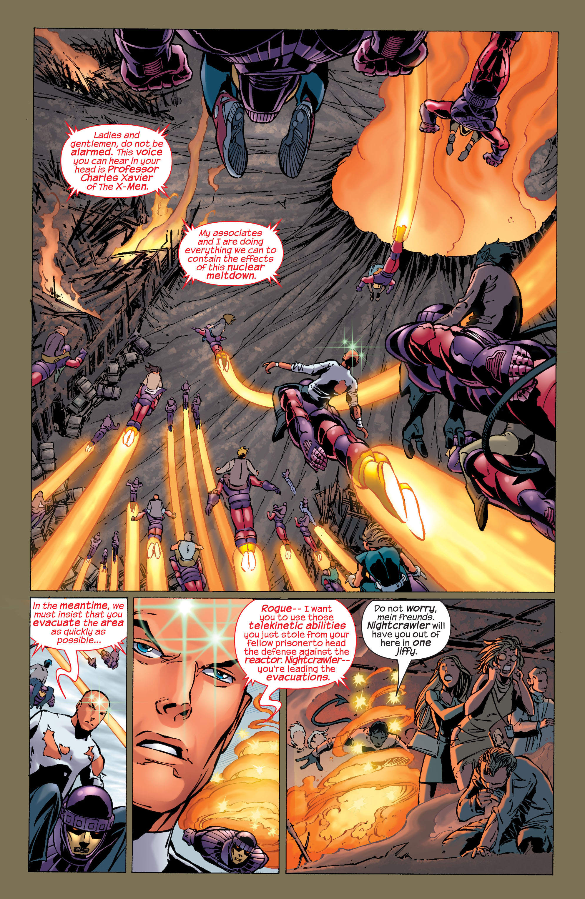 Read online Ultimate X-Men comic -  Issue #31 - 11