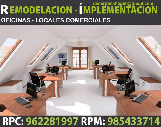 Dise os fabricacion de closet cocina y muebles de oficina for 8 6 mobiliario de oficina
