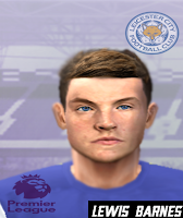 PES 6 Faces Lewis Barnes by Gabo Facemaker